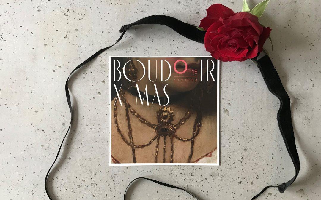 Boudoir X-Mas Lesung im Atelier O18 am 05.12.2019
