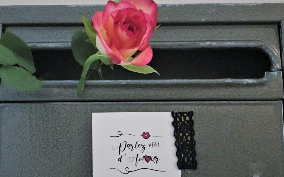Eine Rose im Briefkasten