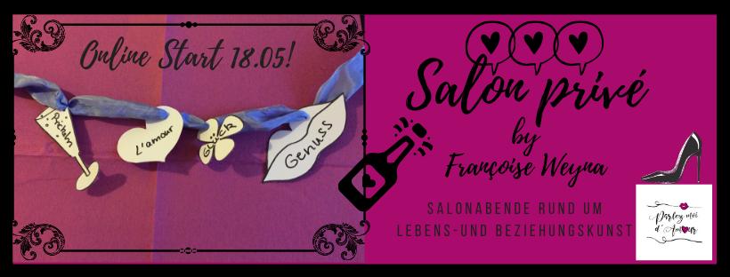 Salon privé: Sommerliche ONLINE Salonabende für Frauen